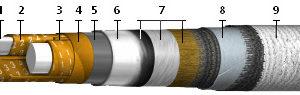 Кабели силовые с пропитанной бумажной изоляцией с алюминиевой жилой